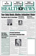 antioxidant alkaline water benefits in Cancer