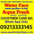 Aquafresh Water Purifier Customer Care Number
